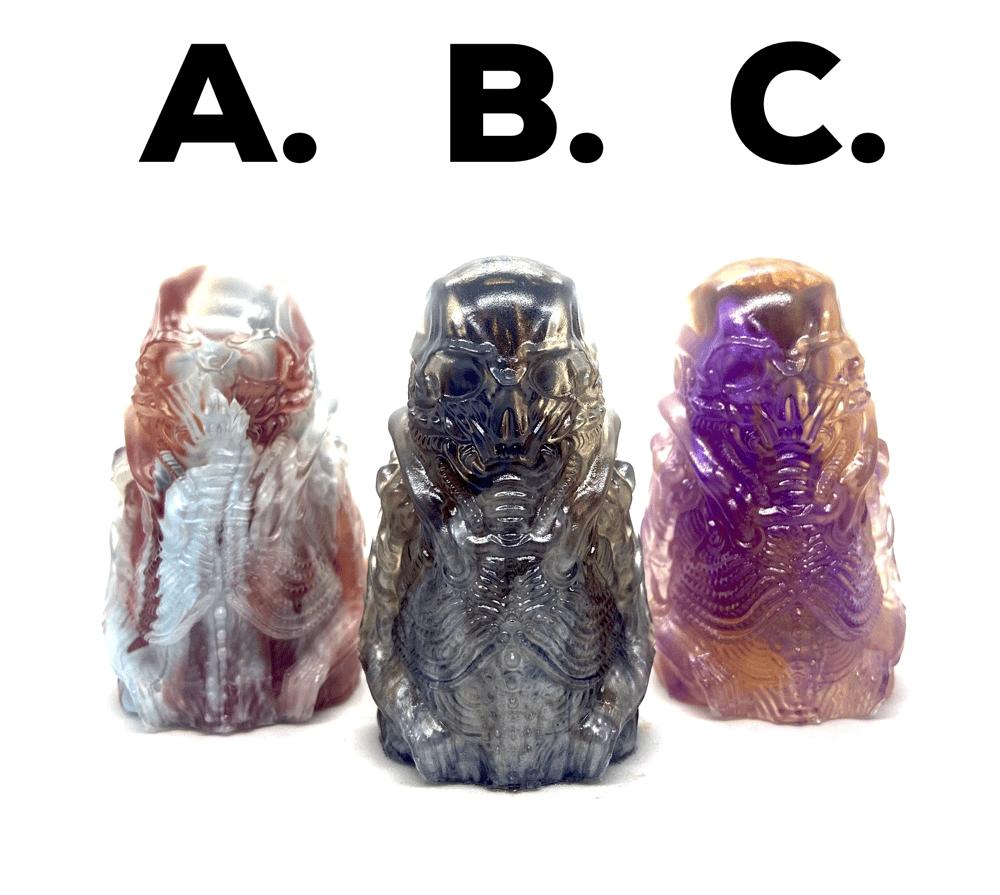 Image of Boneghost: Necro III (Cosmic Marble Edition) Resin