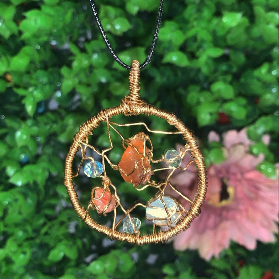 Image of Custom Wire Wrapped Dreamcatcher