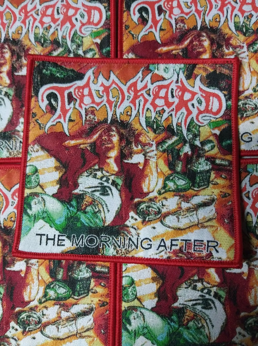 Tankard The Morning After Woven Patch