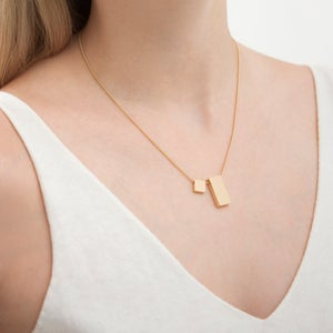 Image of Short cube necklace