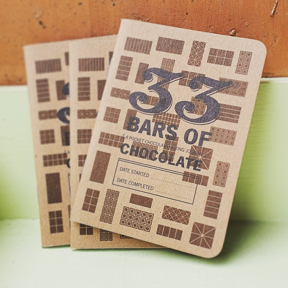 Image of 33 Bars of Chocolate Notebook