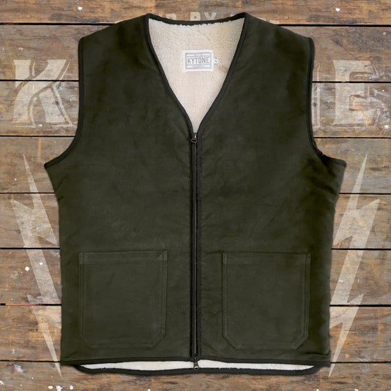 "Image of KYTONE VEST ""ROAD GREEN"""