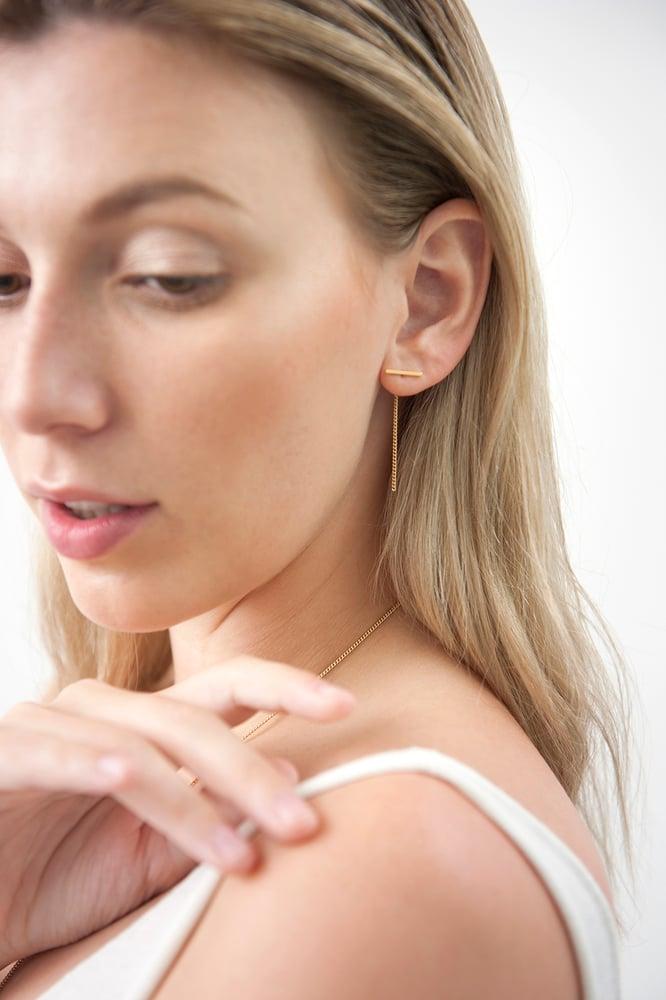 Image of Bar earstuds
