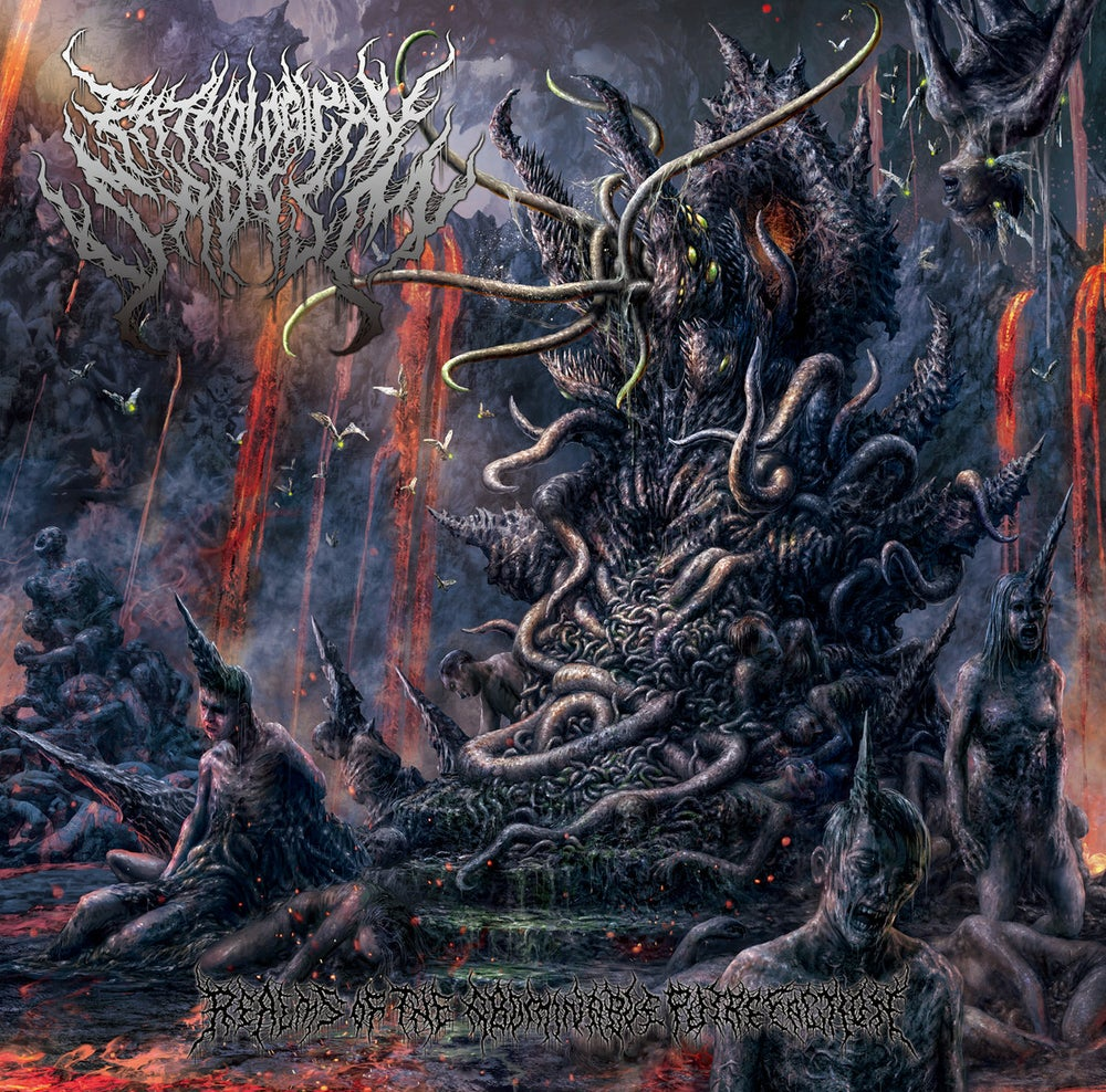 Image of PATHOLOGICAL SADISM - Realms Of The Abominable Putrefaction CD