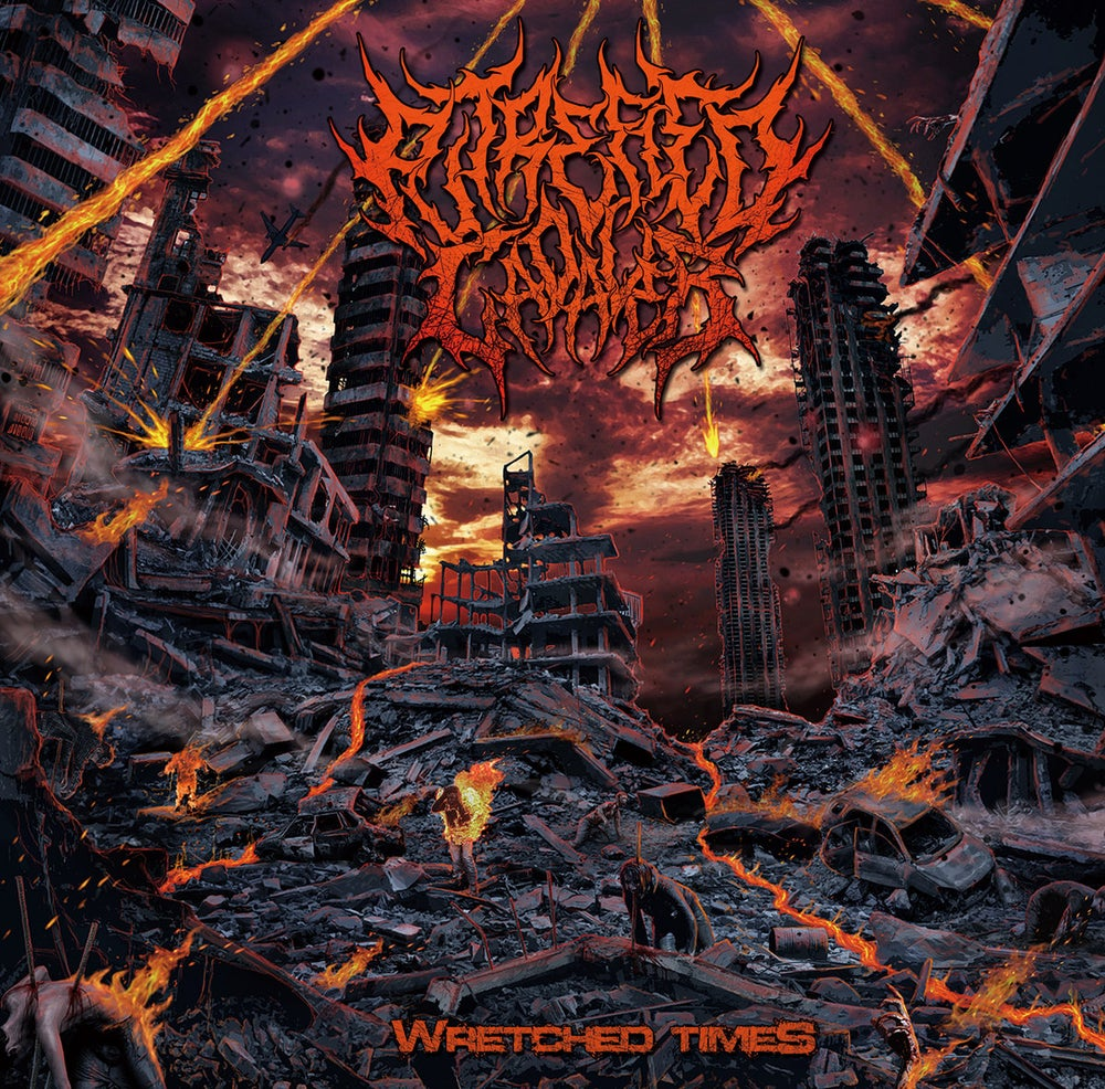 Image of PUTREFIED CADAVER - Wretched Times CD