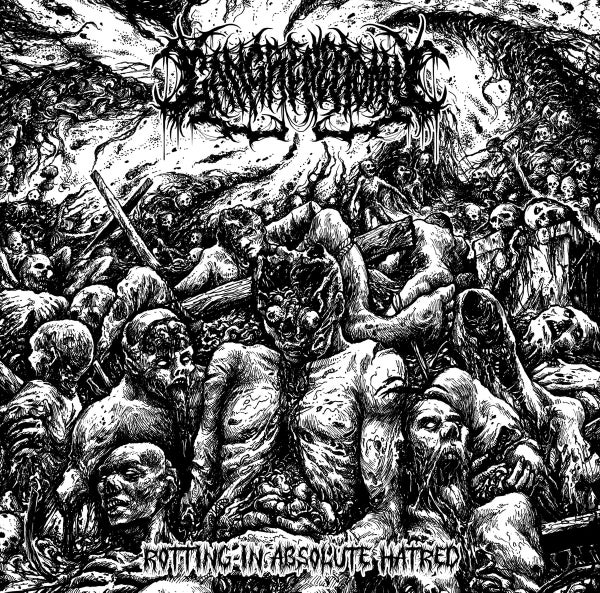 Image of GANGRENECTOMY - Rotting In Absolute Hatred CD EP