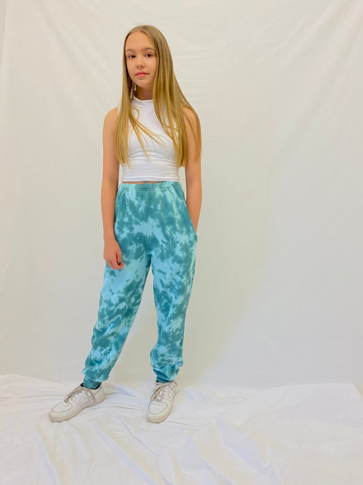 Image of Junior Peppermint Joggers