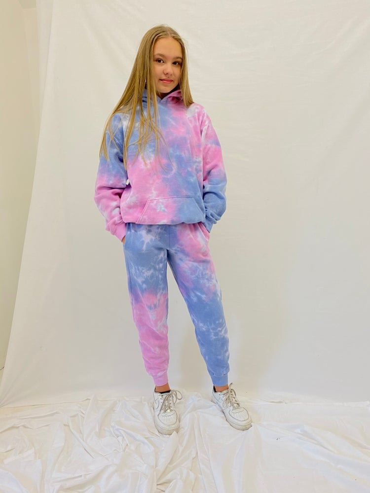 Image of Junior Pastel Blush Tracksuit