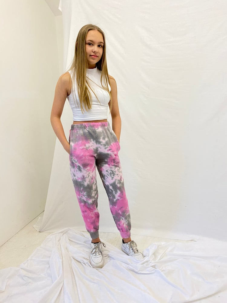 Image of Junior Pink Explosion Joggers