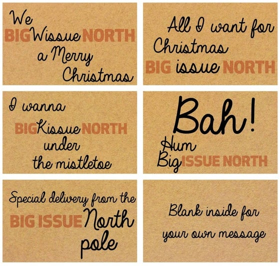 Image of Pack of five Christmas cards