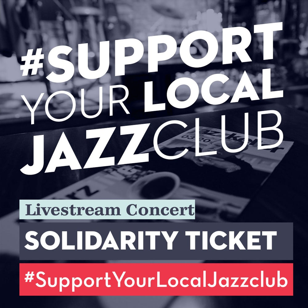 Image of Universal Solidarity Ticket for online concerts