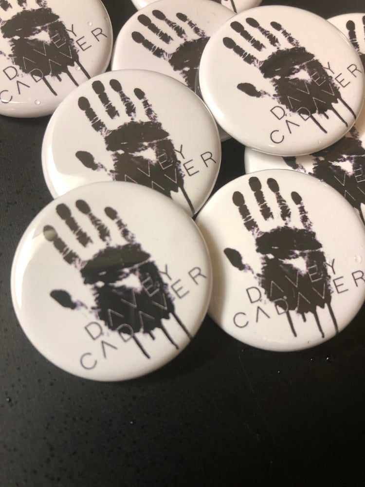 Image of DC Handprint Buttons (Set of 3)