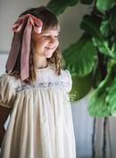Image 1 of Vintage Reindeer Lace Dress & Bubble