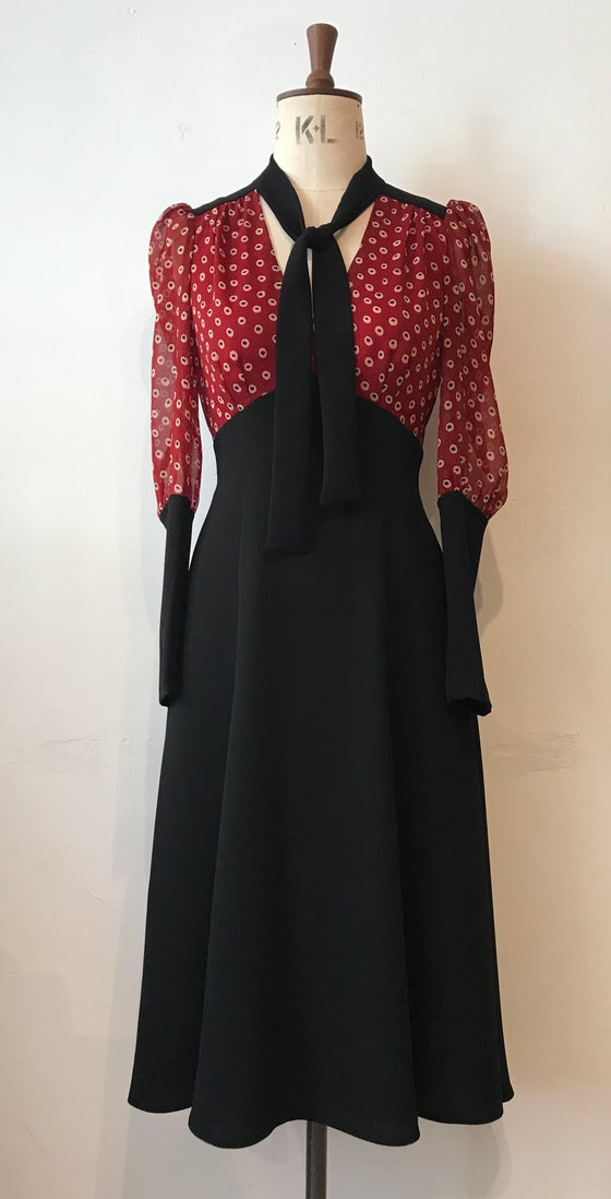 Image of Barbara midi dress