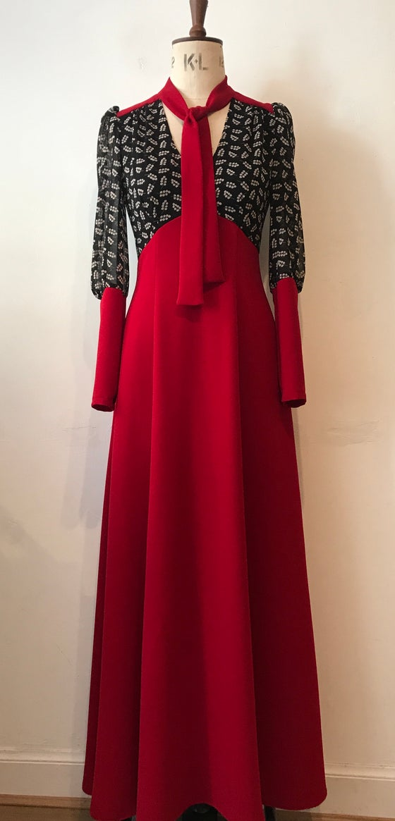 Image of Barbara maxi dress