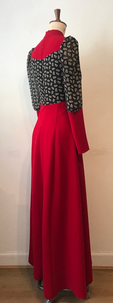 Image of Barbara maxi dress