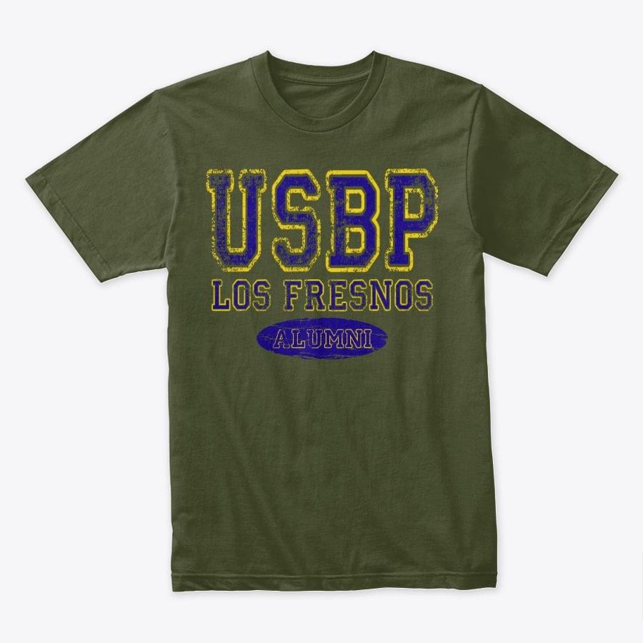 """Image of USBP """"LOS FRESNOS"""" ALUMNI TEE"""