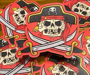 "Image of Jolly Roger 4"" Sticker"