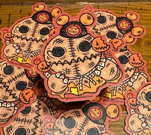 """Image of Sam Tourist 4"""" Sticker"""