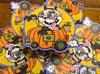 """Panduh Pumpkin Car 4"""" Sticker"""