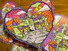 """Halloween Castle Love 6"""" JUMBO Sticker"""