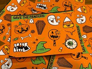Image of Halloween Series 1 Sticker Sheet