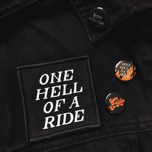 Image of One Hell Of A Ride Patch