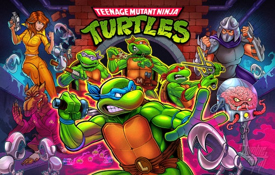 Image of Stern Pro Teenage Mutant Ninja Turtles Signed Translite