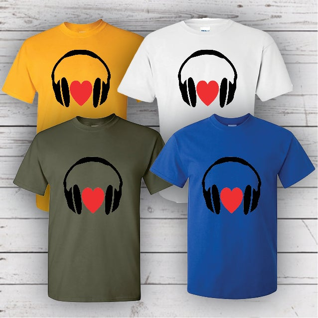Image of I LOVE MUSIC TEE