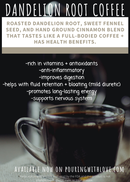 Image 2 of dandelion root coffee