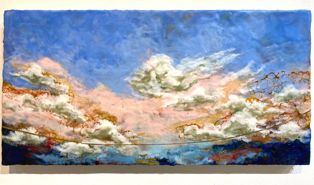 Image of Swimming in the clouds- April S. Olson