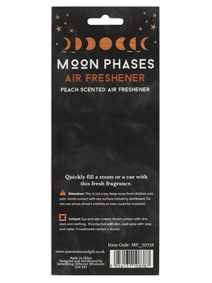 Image of MOON PHASES Peach Scented Air Freshener