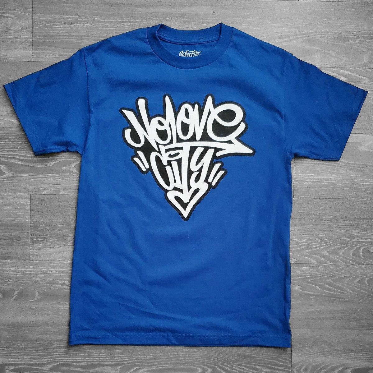 Image of Graffiti Logo (Blue/ Black/White)