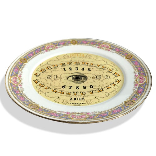 Image of Ouija - Vintage Porcelain Plate - #0736