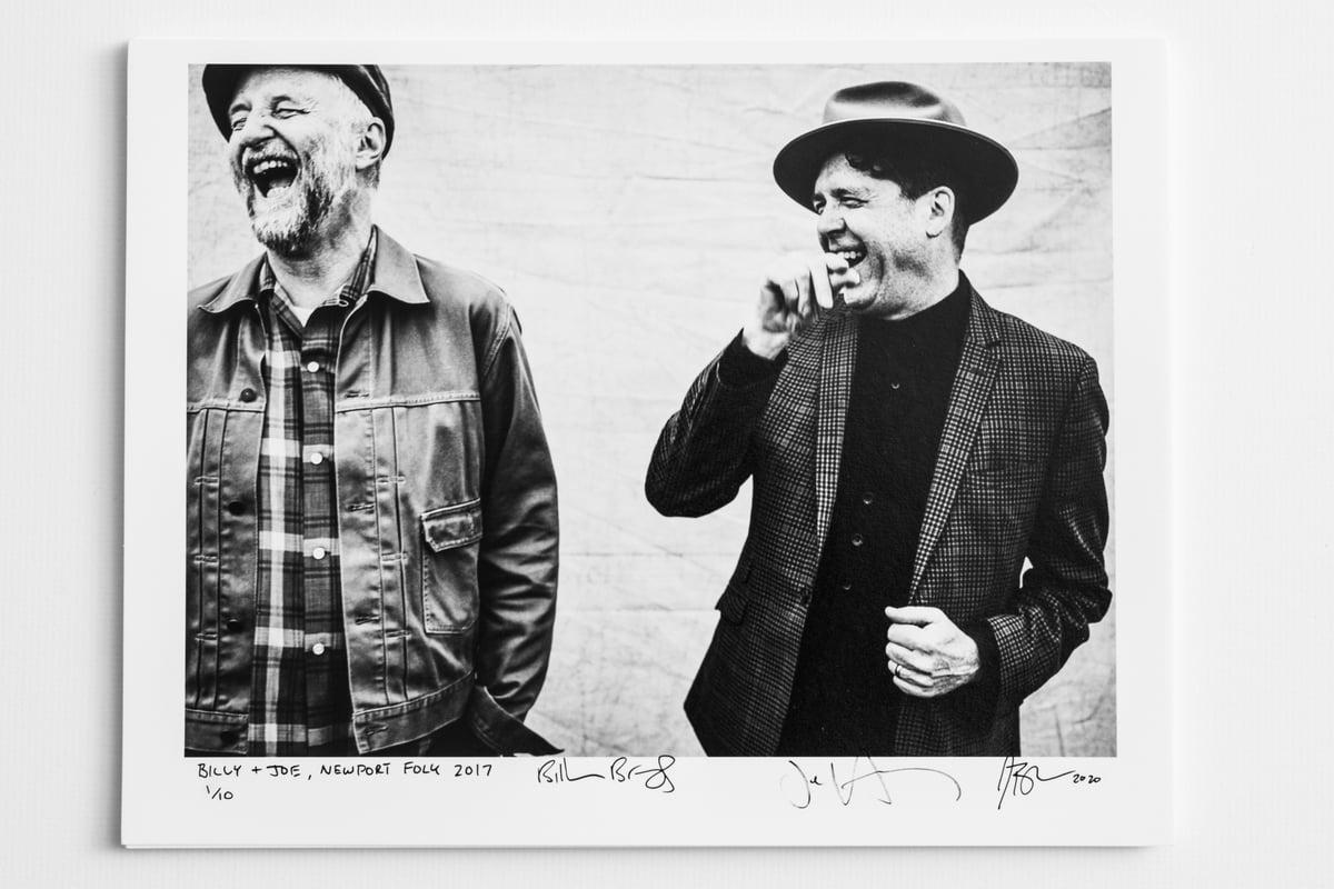 Billy Bragg & Joe Henry - SIGNED