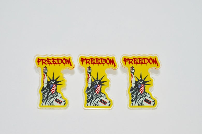 Image of Freedom pin