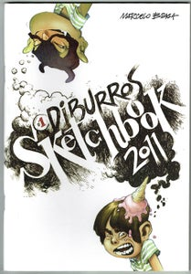 Image of #1 Diburros Sketchbook 2011