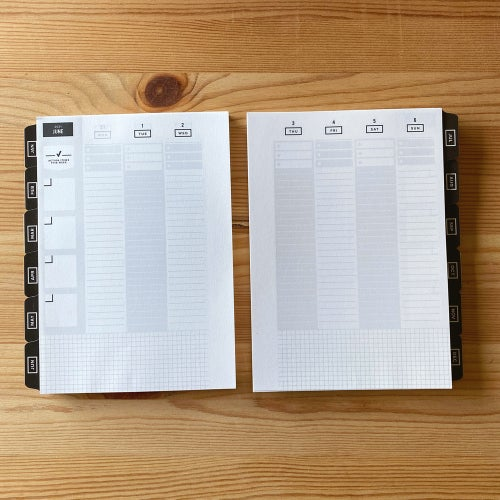 Image of 2021 GET TO WORK BOOK - A5 inserts