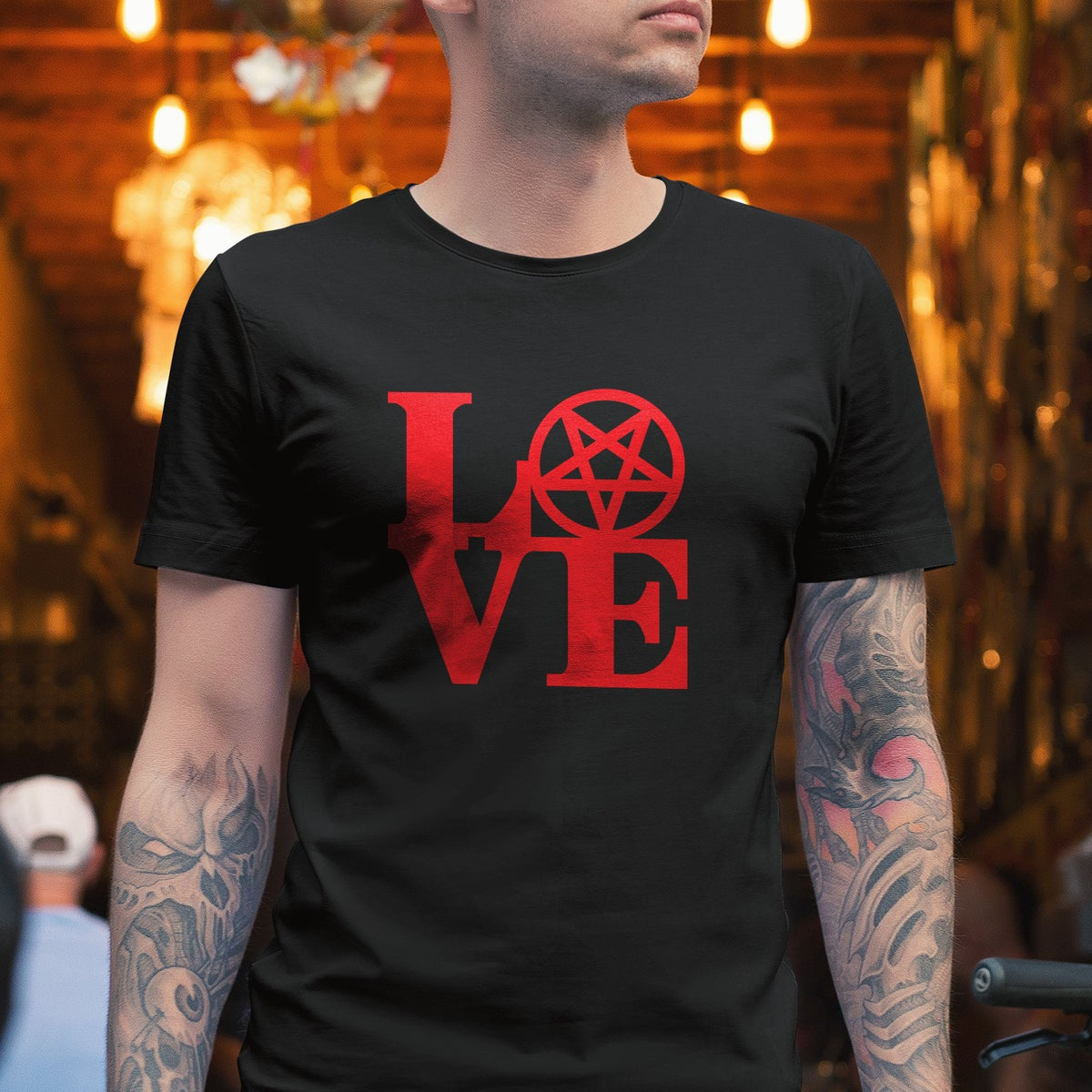 LOVE Pentagram T-Shirt