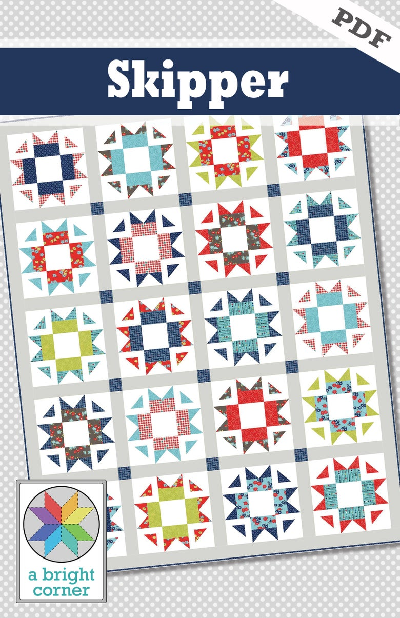Image of Skipper Quilt Pattern - PDF Version