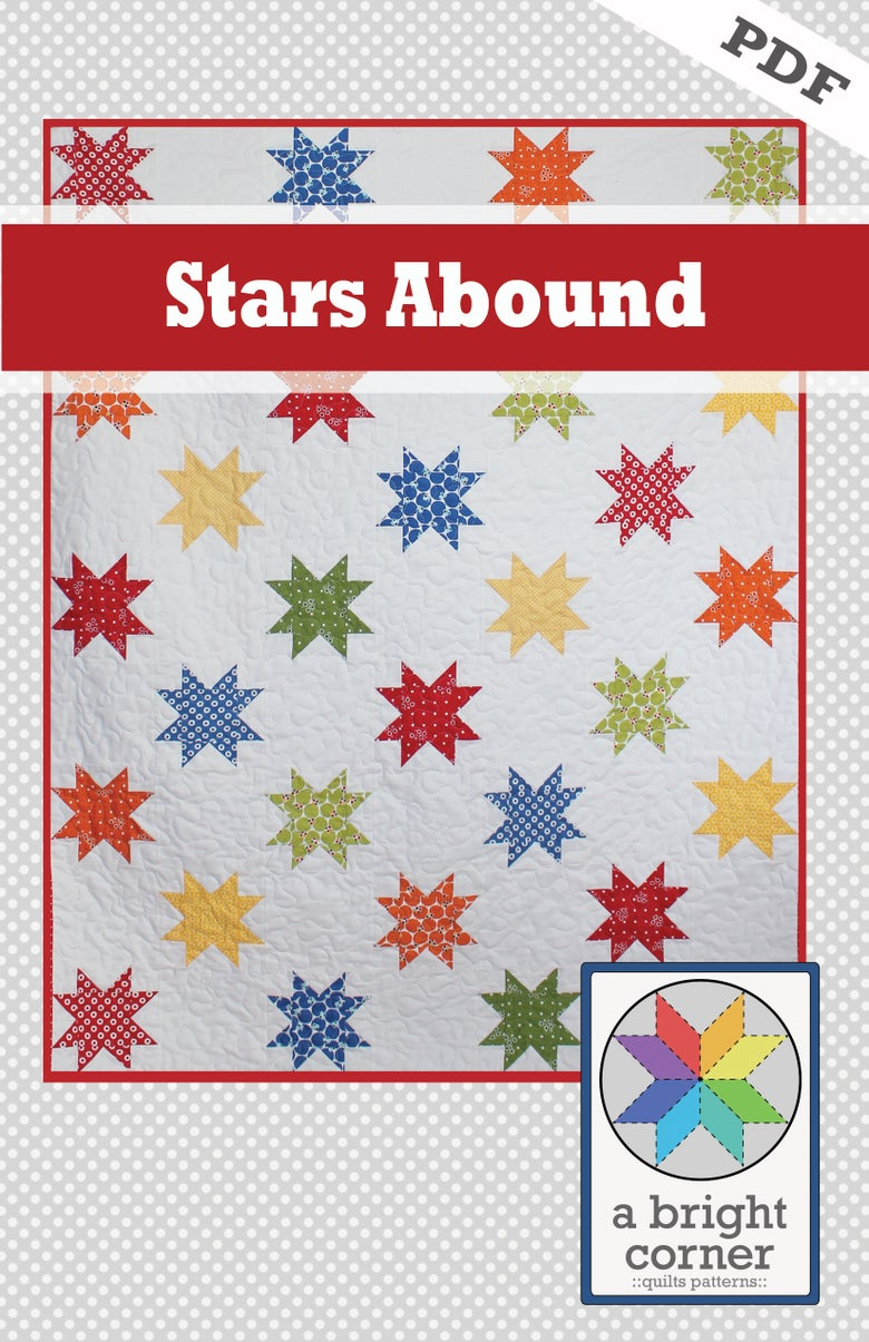 Image of Stars Abound Pattern - PDF Version