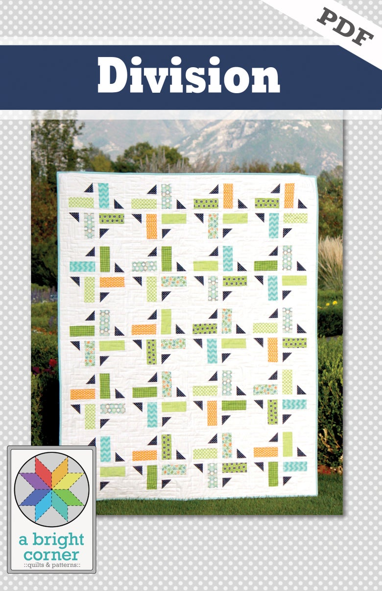 Image of Division quilt pattern - PDF version