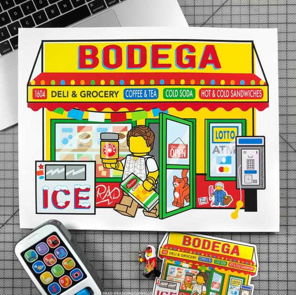 "Image of Bodega Original Giclee Print 11""x14"""