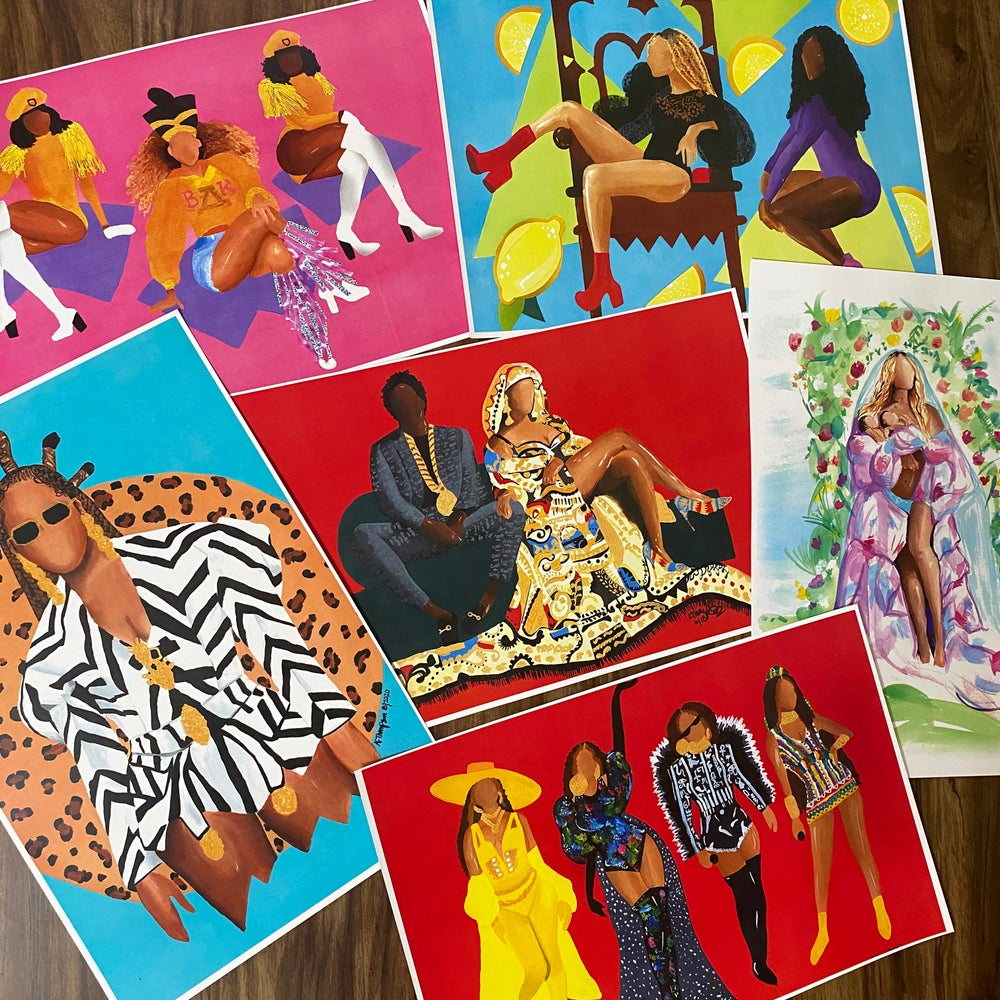 Image of BeyHive Print Bundle