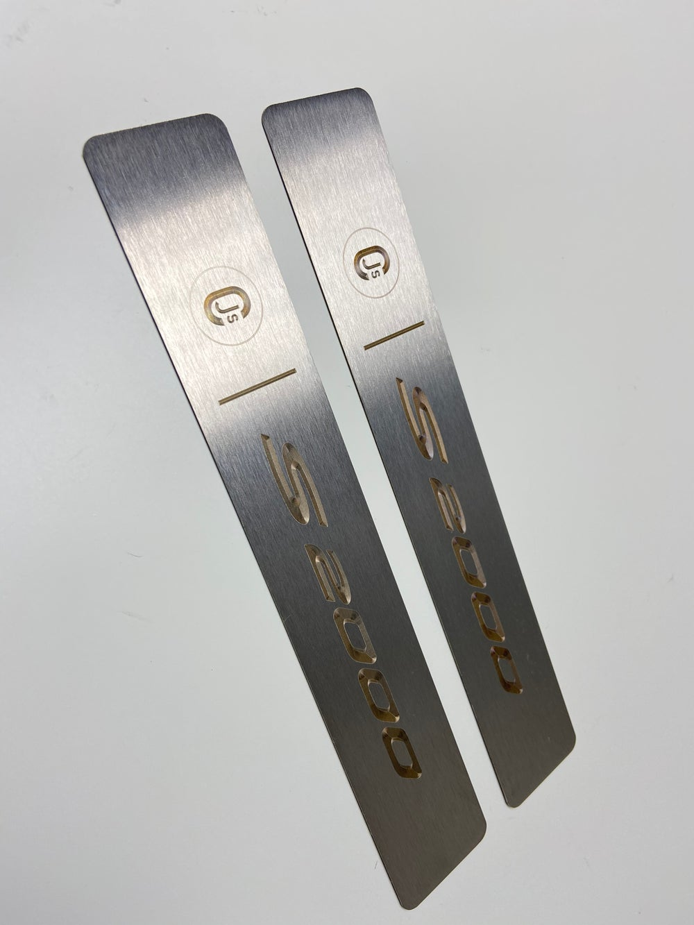 S2000 Titanium Door Sill Inserts