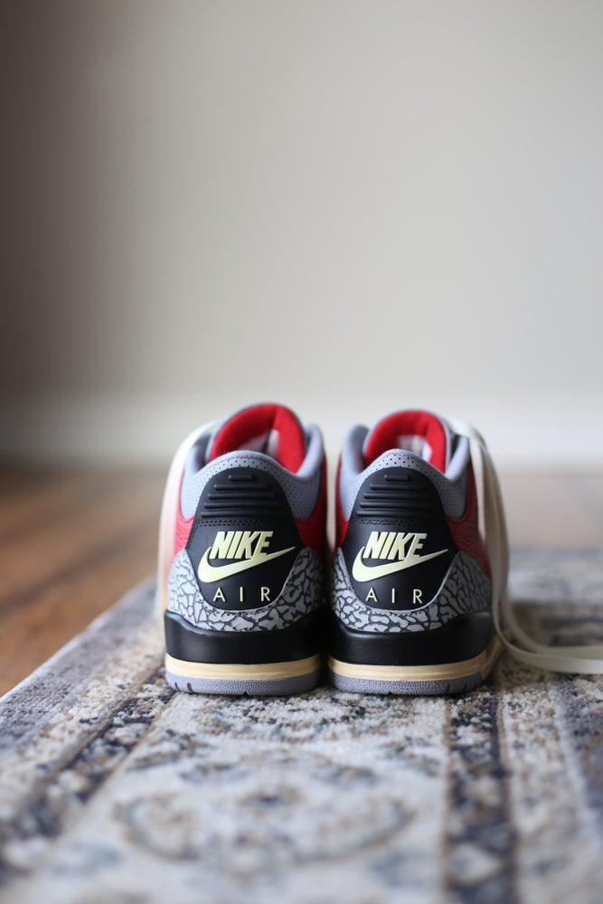 Image of Jordan retro 3 '88 Raging Bull