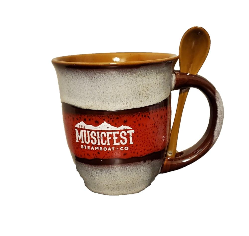 Image of MusicFest Coffee Mug with spoon