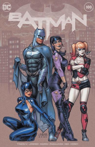 Image of BATMAN  #100 DC COMICS Joseph Michael Linsner Cover METAHUMANS exclusive