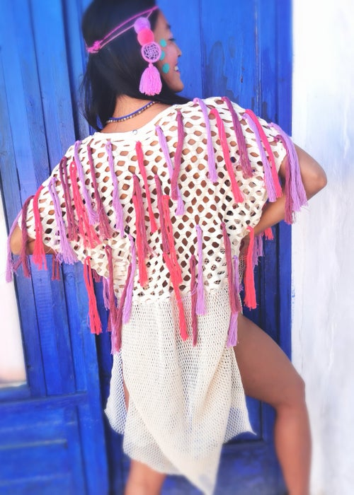 Image of Pinky Frequency Tunic