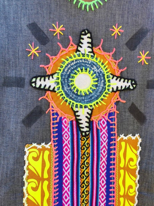 Image of Colors Shamanic Tunic  S